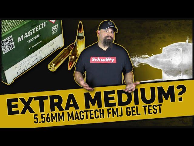 Bestest Budget Blaster?5.56mm Magtech 62gr FMJ Gel Test