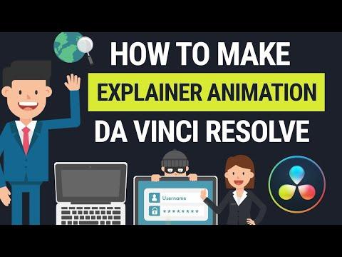 DaVinci Resolve Explainer Animation For Beginners