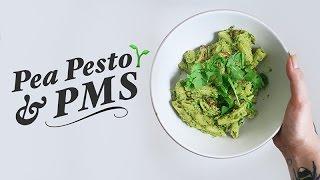 PEA PESTO & PMS  What I Ate