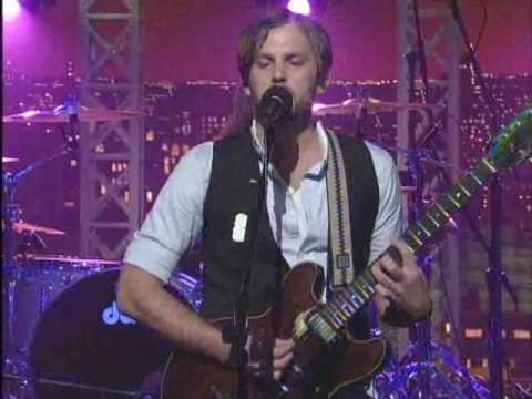 Kings Of Leon Sex On Fire Letterman Late Show