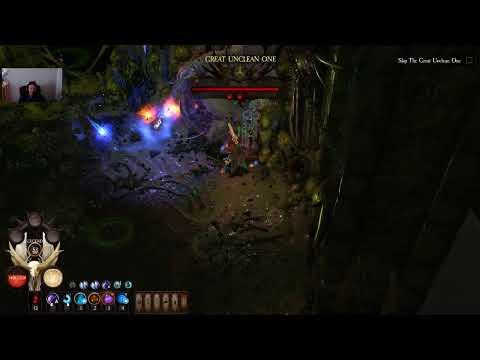 WarHammer Chaosbane Chaos 7 Tomb King's Tank Elontir BOSS RUSH attempt 2 |