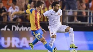 Mohamed Salah Skills & all Goals and Highlights  Roma vs Valencia  3-1