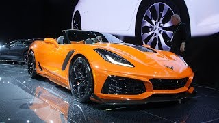 2019 Chevy Corvette ZR1 Debuts At The 2017 LA Auto Show With 755 Horsepower