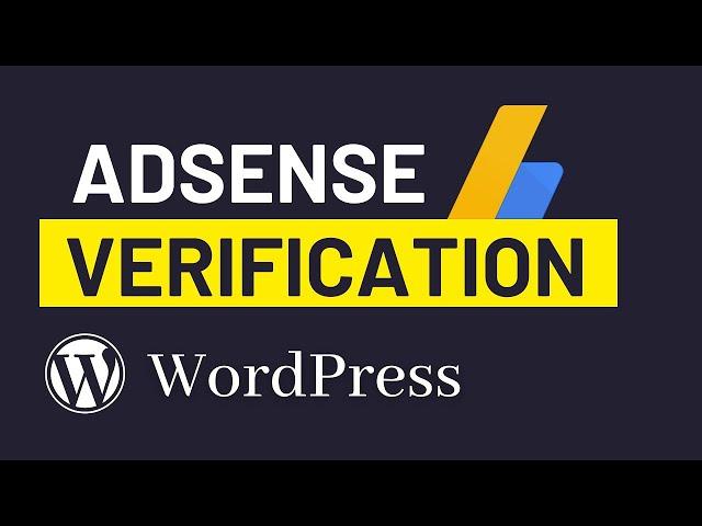 How to Add Adsense Verification Code to WordPress Site (2020)