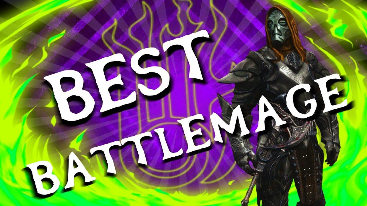 skyrim battle mage build guide
