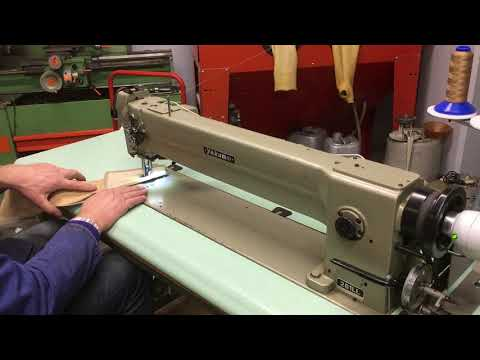 Long arm triple transport large hook used sewing machine at www.foggiato.it