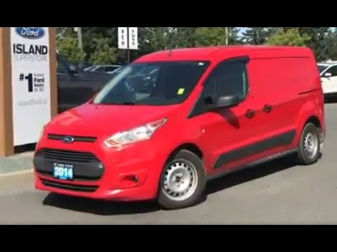 2014 Ford Transit connect XLT cargo Van W/Cruise, Keyless Entry Review| Island Ford