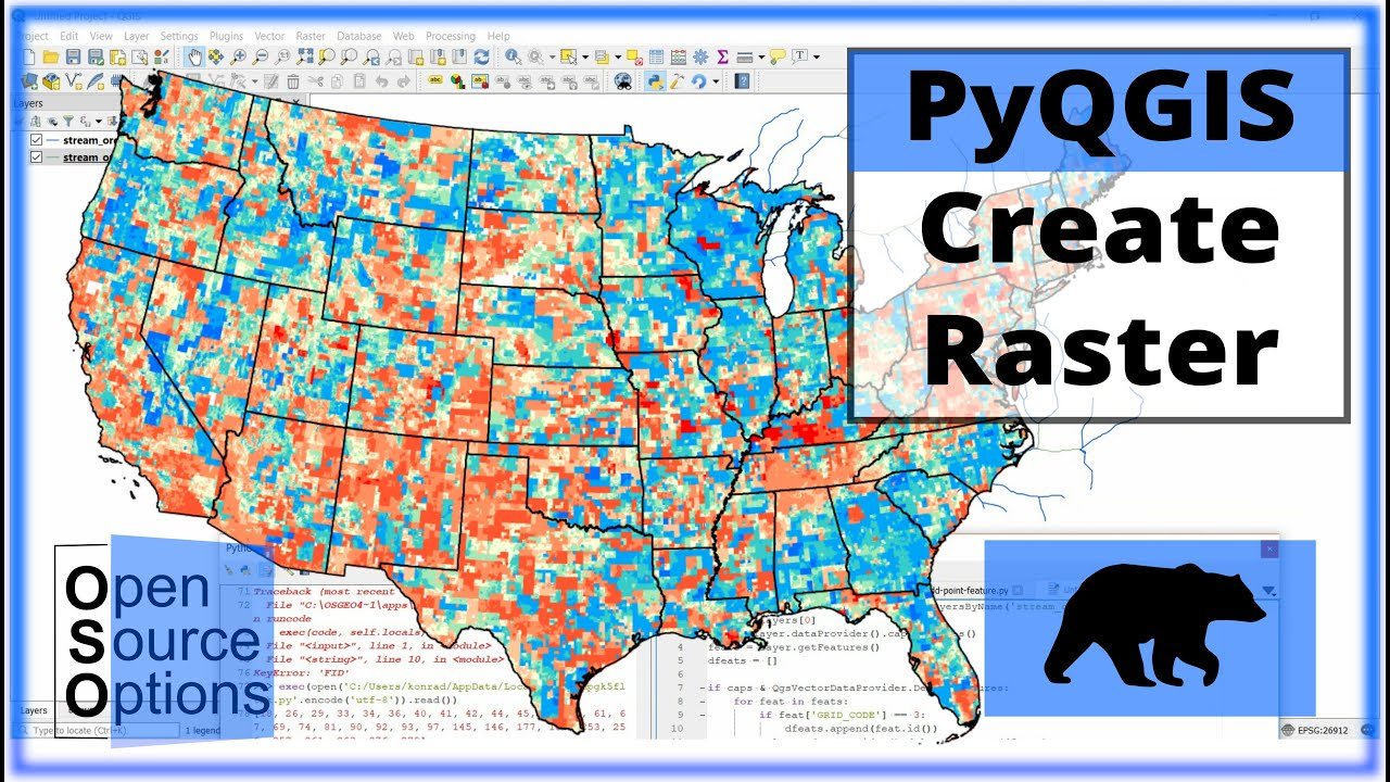 QGIS Python (PyQGIS) - Create a new raster with GDAL