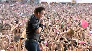 spirit in the night  ( pinkpop 2012 ) bruce springsteen