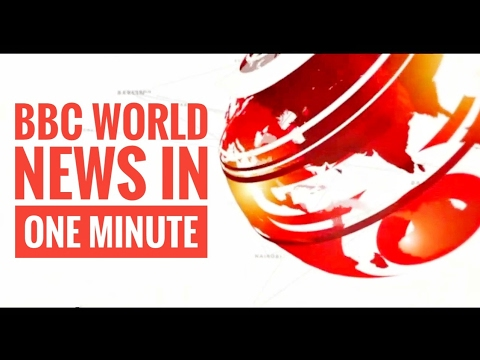 (Jan 10, 2017) BBC World News in one minute
