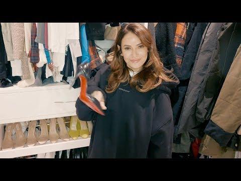 Экскурсия по гардеробной Айзы Анохиной