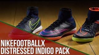 Sapatilhas NikefootballX Indigo Pack: MercurialX, HypervenomX,  MagistaX