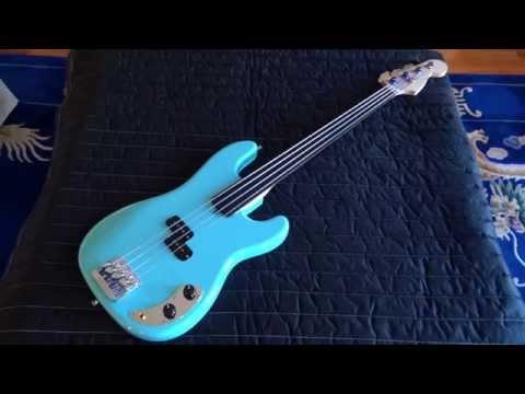 Warmoth Fretless Precision Bass Project