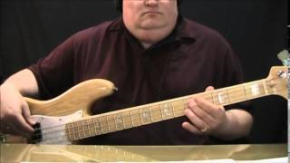 AC/DC Rock N Roll Train Bass Cover with Bass Notes & Tablature