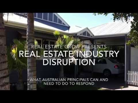Disruption in the Australian Real Estate Industry