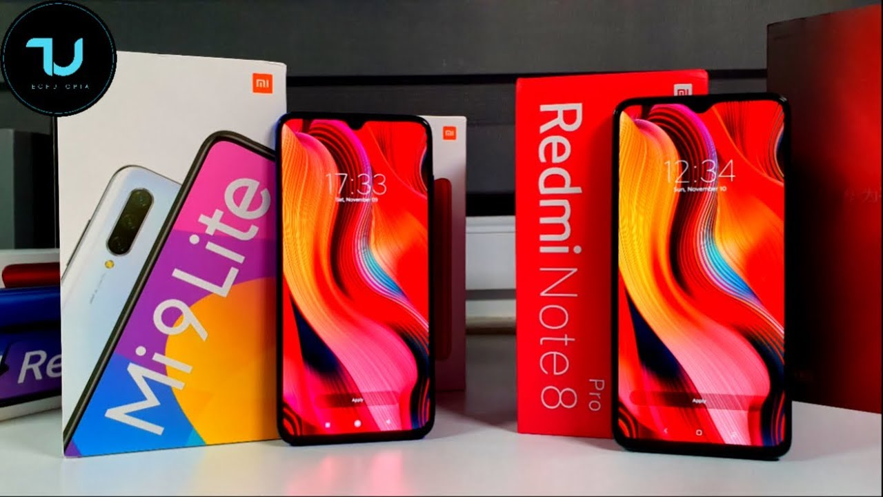 Xiaomi MI9 Lite/CC9 vs Redmi Note 8 Pro Camera comparison/Screen/Size/Sound Speakers/Gaming Review