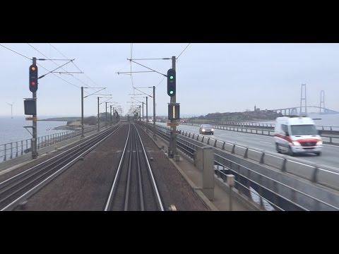 Führerstandsmitfahrt Dänemark : Fredericia - København H in LYN 46