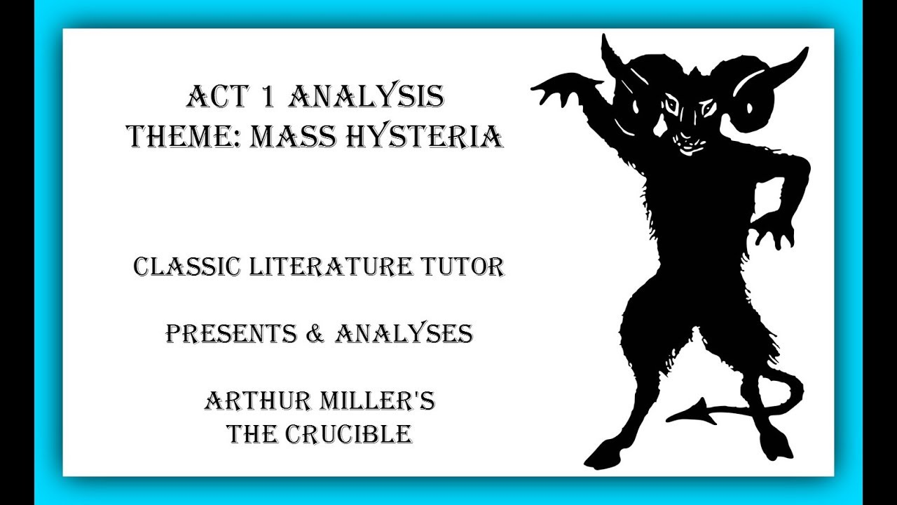 different characters in the crucible by author miller