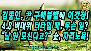 김종인, 尹 구애불발에 어깃장! 4.8 비대위 티타임 …