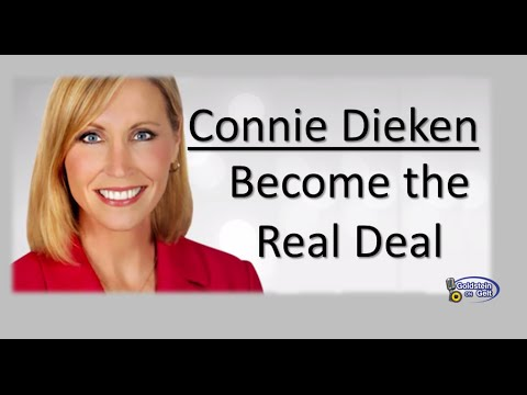 Connie Dieken - Become the Real Deal - interview - Goldstein on Gelt - Jan. 2015