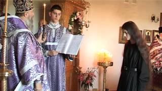 Первый иноческий постриг со времени возрождения Спасского женского монастыря г. Кобрина.(14 августа 2014 г., 2014-08-15T19:50:53.000Z)