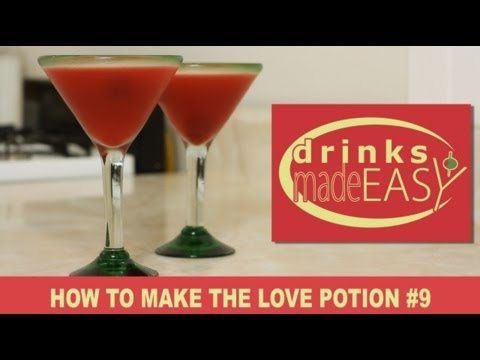 How To Make A Love Potion No.9 Cocktail   Drinks Made Easy