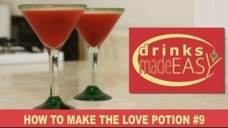 How to make a Love Potion No.9 Cocktail-Drinks Made Easy