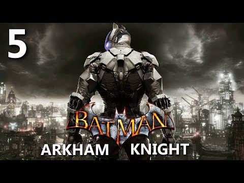 Batman Arkham Knight. Дирижабли Стэгга. Прохождение № 5.