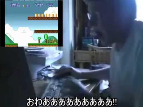 キーボードクラッシャーとムスカのゲーム対決3 (マリオ2編) - YouTube