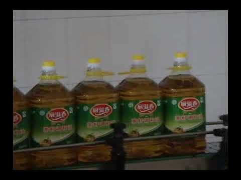 oil filling production line,food oil,Olive oil, coconut oil filling and capping equipment