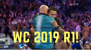 Rob Cross vs Jeffrey de Zwaan WORLD CHAMPIONSHIP 2019 R1 (Darts WM 2019)