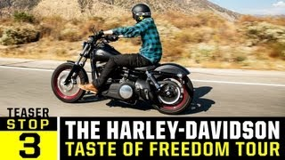 Harley Davidson Freedom Tour - Ep 3 Teaser