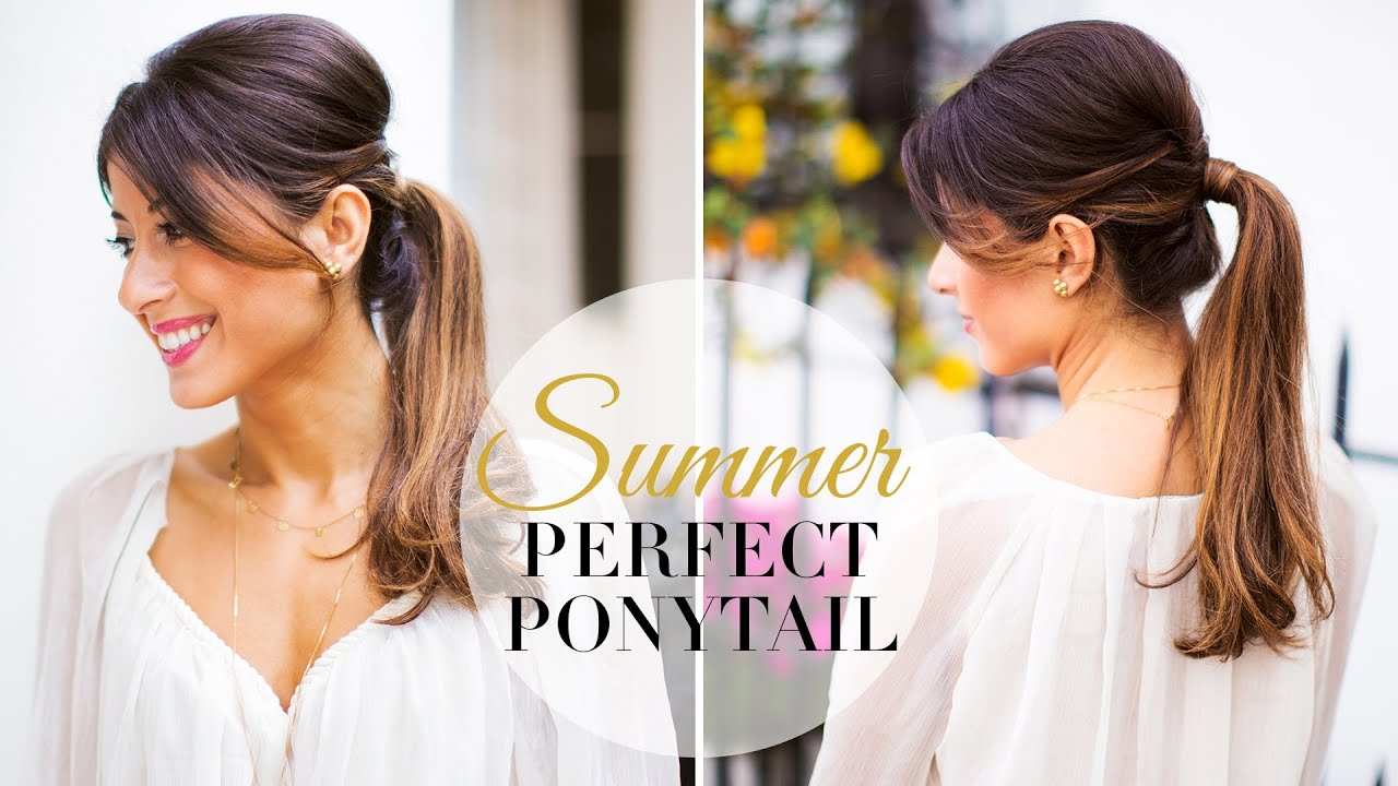 Summer Hairstyle How To : Summer perfect ponytail