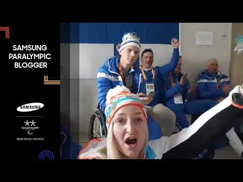 Sini Pyy | First medal for Finland! Samsung Paralympic Blogger | PyeongChang 2018