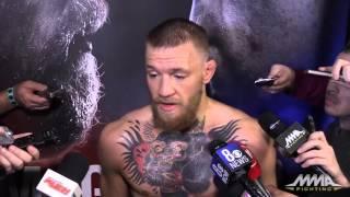 UFC 196: Conor McGregor Open Workout Scrum