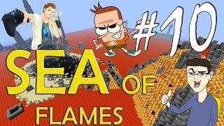 MINECRAFT : SEA OF FLAMES - RECUPERIAMO LA SPADA!! w/SurrealPower & Vegas #10