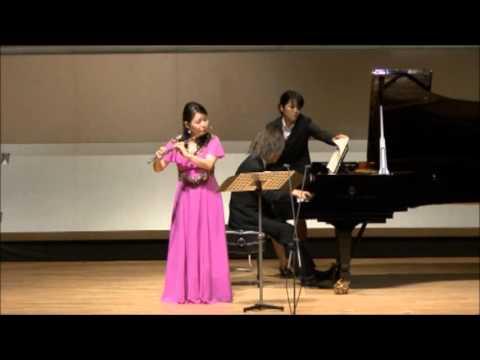 JS Bach Flute Sonata BWV 1030 紫園香(fl)
