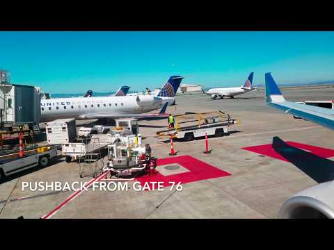 United Express (Operated by SkyWest) ERJ-175 San Francisco -