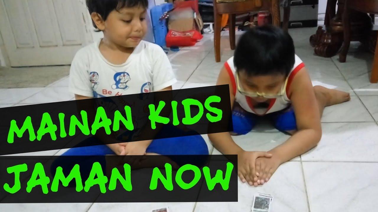 Main Tepuk Kartu | mainan anak Balikpapan jaman now - YouTube