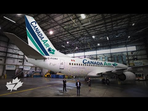 WestJet rebrands as Canada Air – the #MostCanadian airline ever