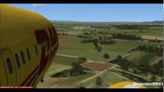 Start and landing Boeing 737-800 FSX HD