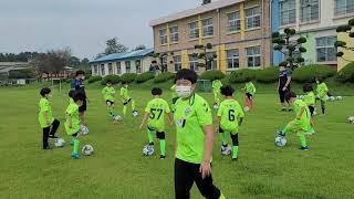 용산초 방과후수업 강사 김장균 아이들 볼감각 수업