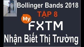 ForexTime(FXTM) 2018,TẬP 8,Bollinger Bands,NHẬN BIẾT thị trường TĂNG hay GIẢM, nên quyết định vào