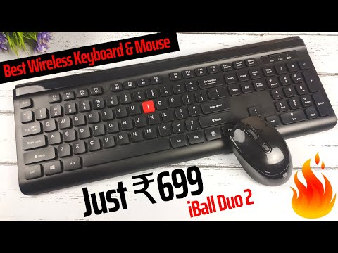 IBall Magical Duo 2 Wireless Keyboard & Mouse Review In Hindi | Best Wireless Keyboard And Mouse