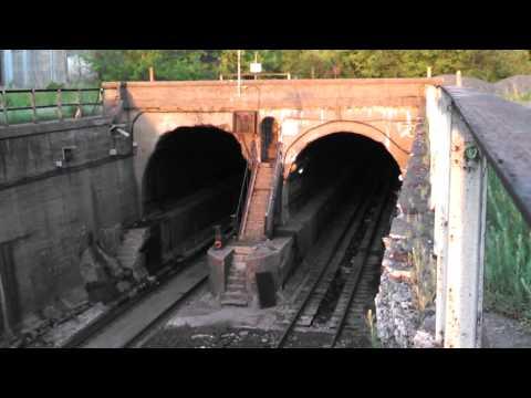 Detroit River Train Tunnel.
