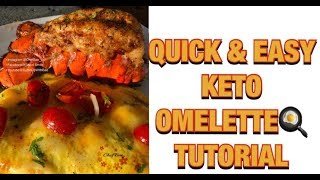 Cuttin Up With Bae: How to make a Loaded Keto Omelette with Chef Bae