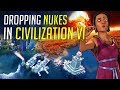 Dropping NUKES in Civilization 6: Gather