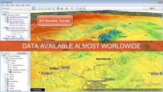 SolarGIS maps and data for Google Earth (Jun 2013) - short overview