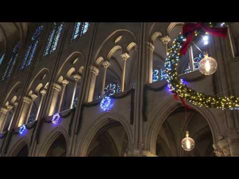 Concert de Noël 2016 à Notre Dame de Paris  - 1ère partie