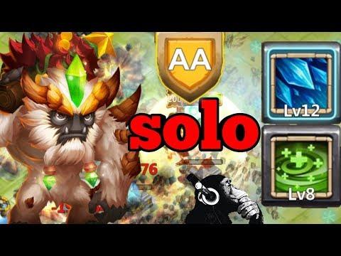 Regenerate | Sasquatch | HBM AA | Solo | Castle Clash